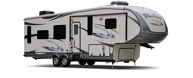 2014 Forest River Blue Ridge 3710BH Review
