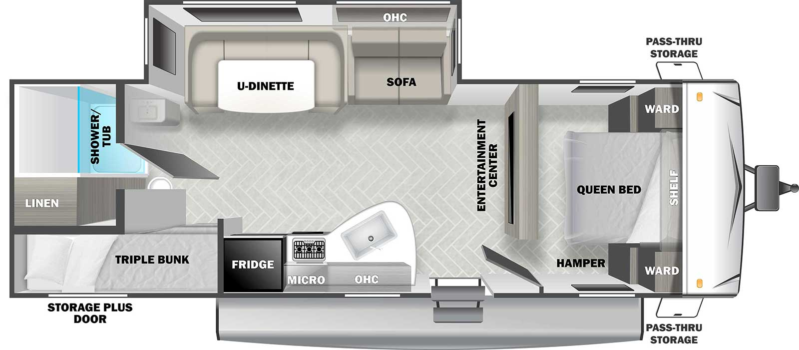 Evo T2550 Forest River Rv Manufacturer Of Travel Trailers Fifth Wheels Tent Campers Motorhomes
