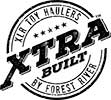 XLR Toy Haulers by Forest River XTRA BUILT Logo